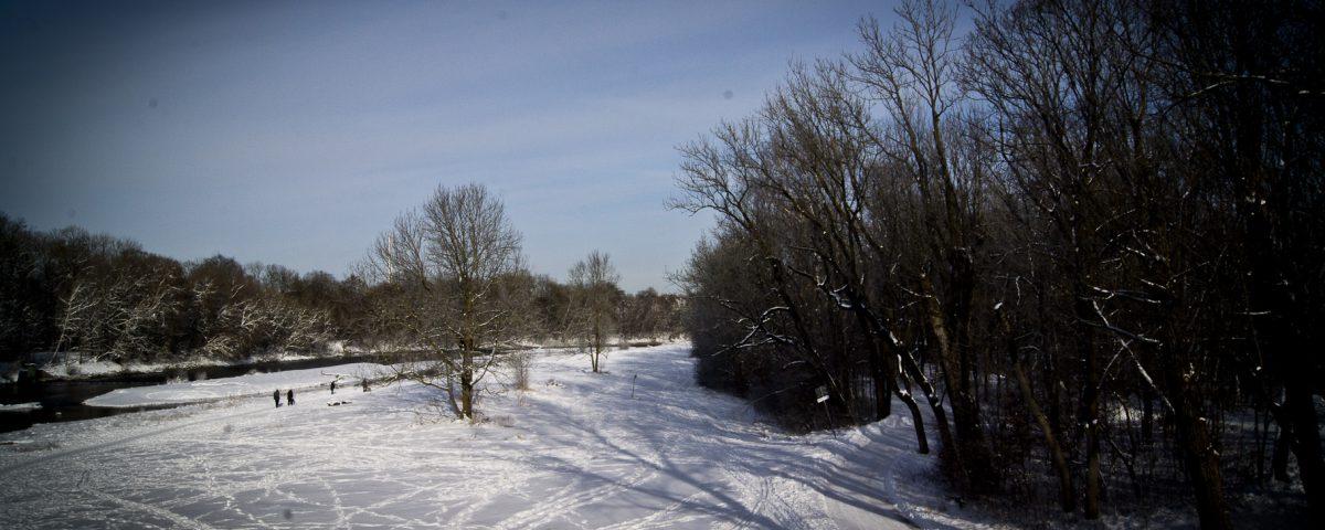 Winterspaziergang an der Isar 2
