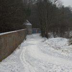 Die Langlauf-Loipe am Nymphenburger Schloßpark 22