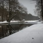 Die Langlauf-Loipe am Nymphenburger Schloßpark 23